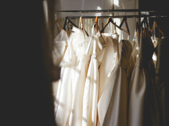 The wedding outfits